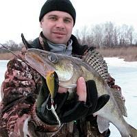 Ловля на раттлины зимой