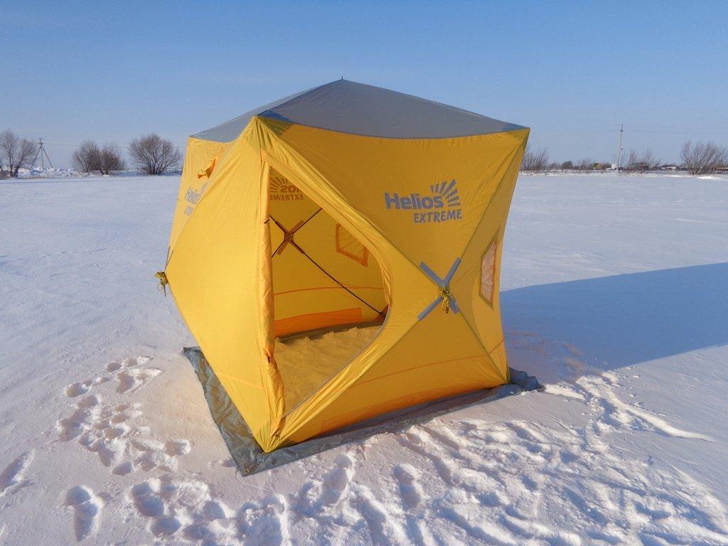 Рыбачим в кубе: палатки кубы для зимней рыбалки