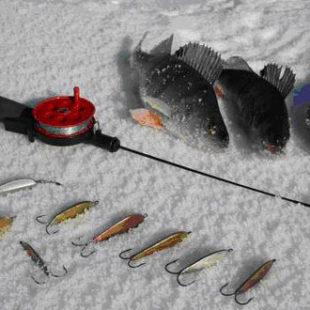 Видео о ловле зимой на донные блесны