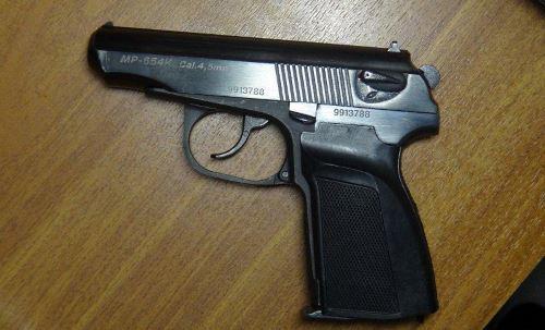 Пистолет российского бренда «Ижевский Механический Завод» («Байкал»)