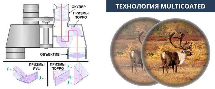 Отличительные черты оптической системы