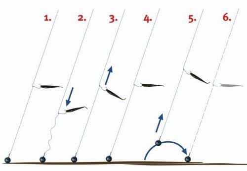 Техника проводки приманки в стоячей воде