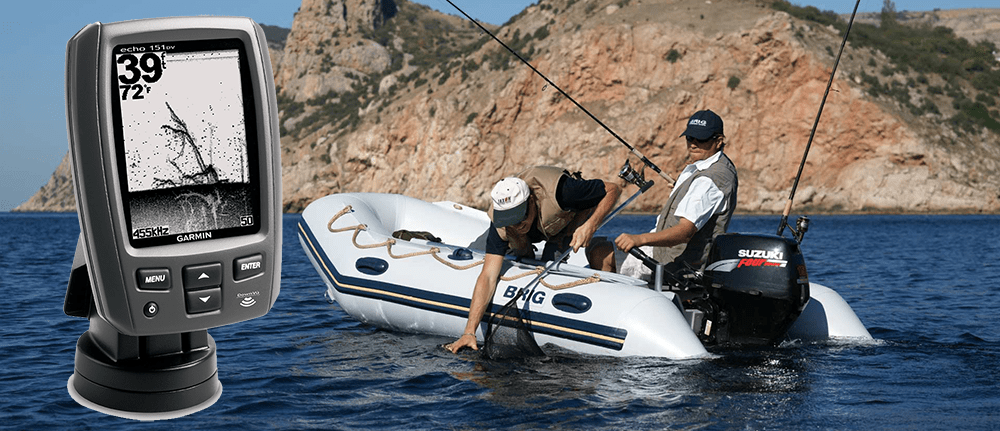 Лучшие эхолоты для рыбалки с лодки ПВХ