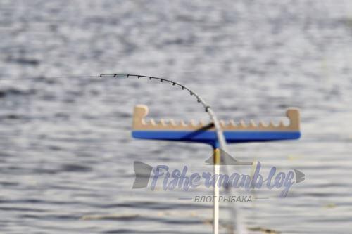 спиннинг для ловли в стоячей воде