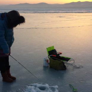 Ловля рыбы в последний месяц зимы