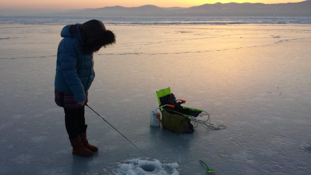 Рыбалка в последний месяц февраля