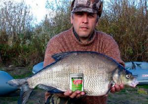 40 кг рыбы на приманку с феромонами