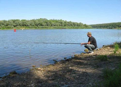 Летняя рыбалка по жаре