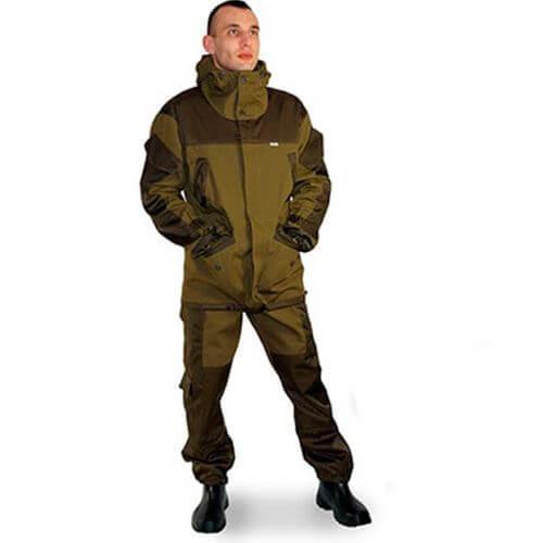 Характеристики костюма Горка для рыбалки