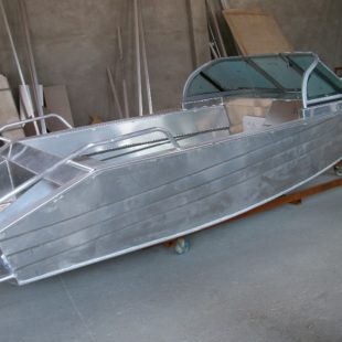 Делаем лодку из аюминия