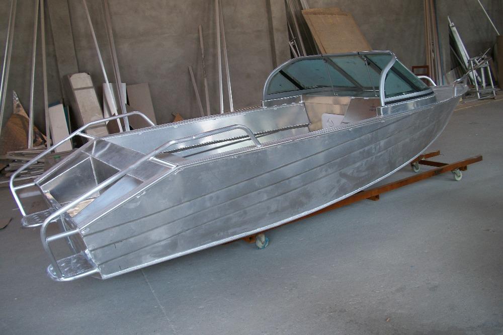 Самодельная лодка из алюминия
