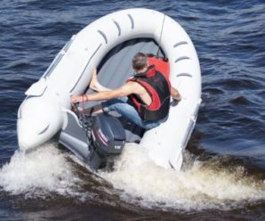 Лодки с надувным дном из ПВХ