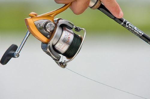 Катушка для ловли голавля