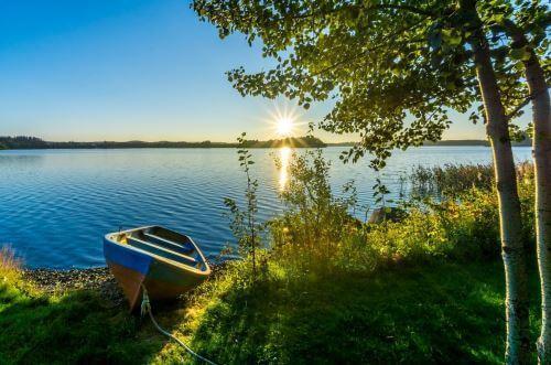 Поиск места ловли карася летом фидером