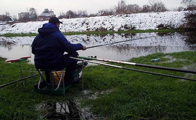 Рыбалка сразу после льда