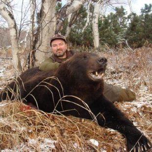 Охота на медведя в Камчатке