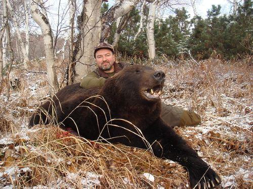 Охота на медведя в Камчатке часть третья