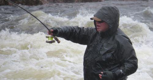 Куртки и ботинки для рыбалки