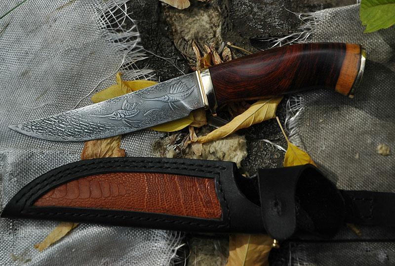 Виды рыболовных ножей