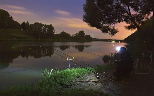 Преимущества ночной рыбалки