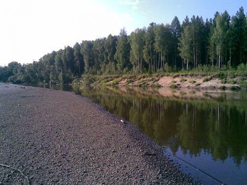 Бесплатные места для рыбалки в Красноярске