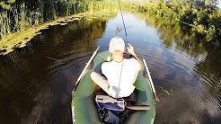 Видео о ловле щуки на реке твичингом на воблер Jackall Magsquad 128