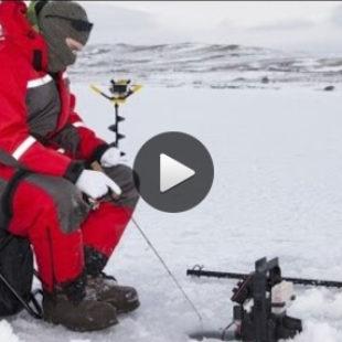 Ловля щуки зимой