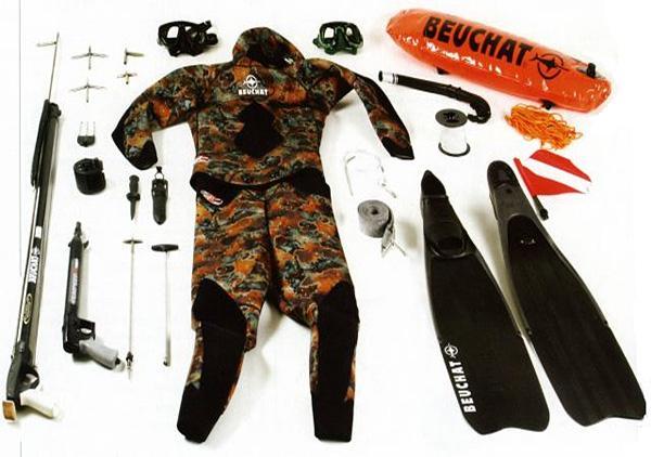 Как выбрать снаряжение для подводной охоты