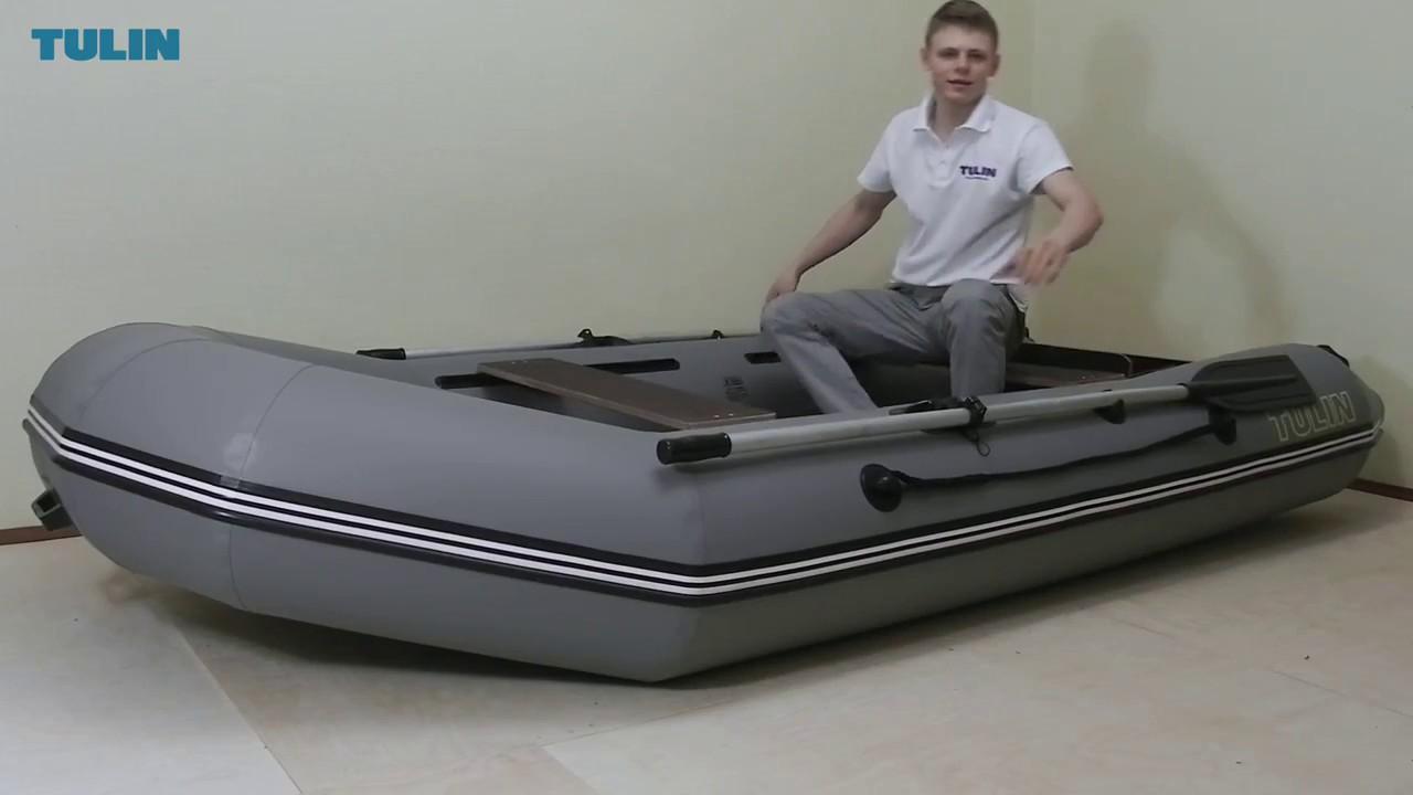 Особенности лодок Тулин