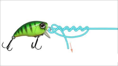 Как вязать узел усиленный клин