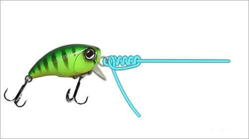 Узел клинч для рыбалки