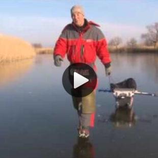 Видео о зимней рыбалке на окуня на съедобный силикон